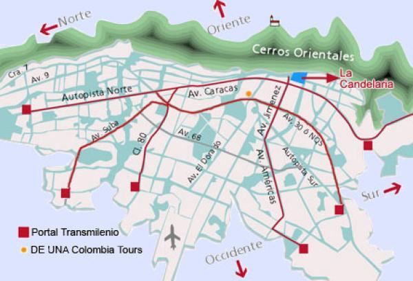 Bogota for Direccion ministerio del interior bogota